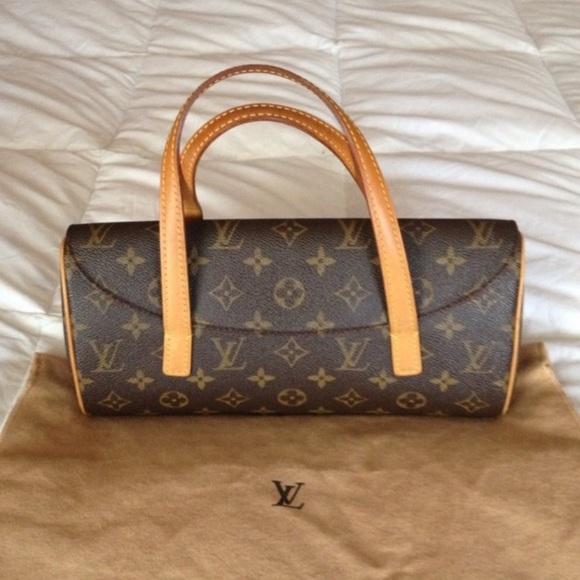 Louis Vuitton Handbags - Authentic Louis Vuitton Sonatine Purse